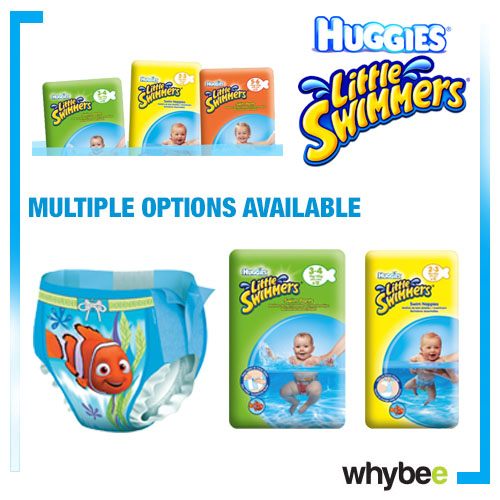 1 X Huggies Little Swimmers Infant Baby Toddler Disposable Swim Pants Single Preview