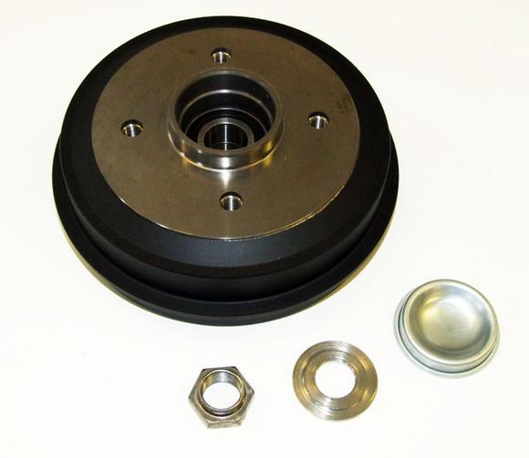Peugeot 106 S1 91-96 Rear Hub & Brake Drum 180x30 (ABS) - New Genuine Peugeot Thumbnail 2