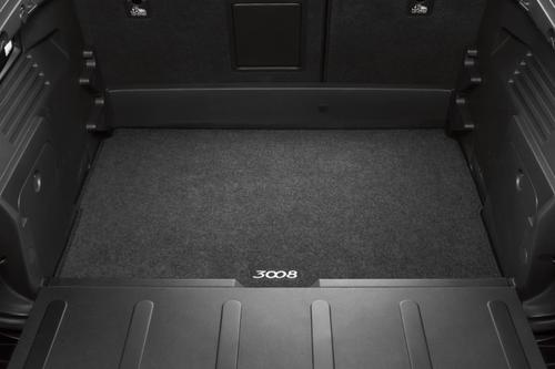 PEUGEOT 3008 BOOT MAT [Fits all 3008 models] 1.6 THP 2.0 HDI GENUINE PEUGEOT Thumbnail 1