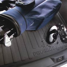 PEUGEOT 407 BOOT PROTECTION TRAY [Saloon] 1.6 2.0 2.2 V6 HDI GENUINE PEUGEOT Thumbnail 1