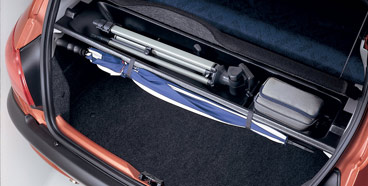 PEUGEOT 206 BOOT TIDY [3 & 5 door hatchback] GTI HDI XSI GENUINE PEUGEOT PART! Thumbnail 1
