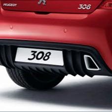 PEUGEOT 308 BUMPER DIFFUSER [Hatchback] 1.6 2.0 PETROL & DIESEL GENUINE PEUGEOT Thumbnail 1