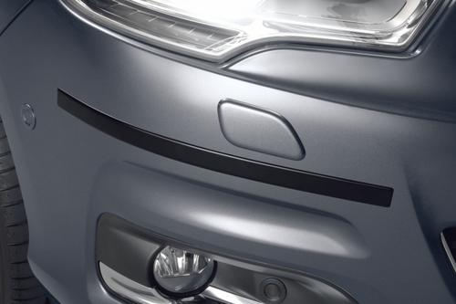 PEUGEOT 308 BUMPER RUBBING STRIPS BLACK [Fits all 308 models] 1.4 1.6 TURBO HDI Thumbnail 1