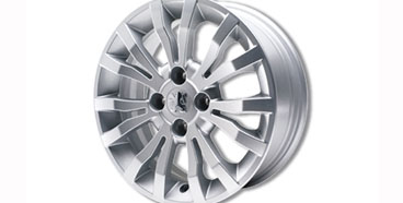 "PEUGEOT 207 CHRONO 16"" ALLOY WHEEL [Fits all 207 models] GT GTI RC THP TURBO Thumbnail 1"