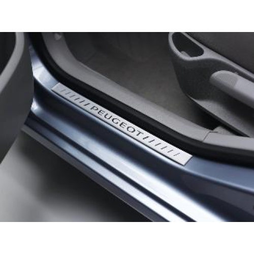PEUGEOT 308 DOOR SILL PROTECTORS CHROME EFFECT [5 door and SW ] SPORTS WAGON Thumbnail 1