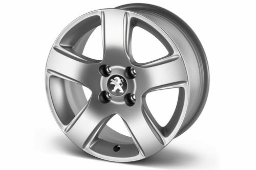 "PEUGEOT 3008 ISARA 16"" ALLOY WHEEL [Fits all 3008 models] 1.6 THP 2.0 HDI NEW! Thumbnail 1"