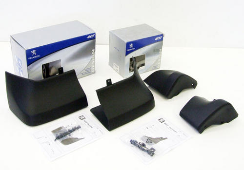 PEUGEOT 407 MUD FLAPS [Restyled Saloon version] 1.6 2.0 2.2 V6 HDI GENUINE PARTS Thumbnail 1