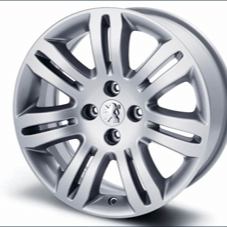 "PEUGEOT 308 OSORNO 16"" ALLOY WHEEL [Fits all 308 models] 1.4 1.6 TURBO HDI NEW! Thumbnail 1"