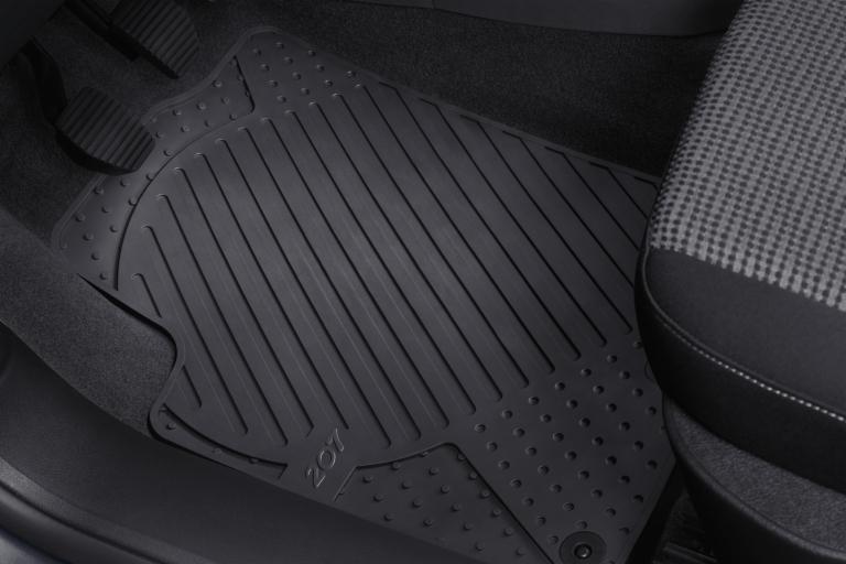 Peugeot 207 alfombrillas de goma 207 modelos gt gti rc thp turbo piezas - Alfombras peugeot 206 ...
