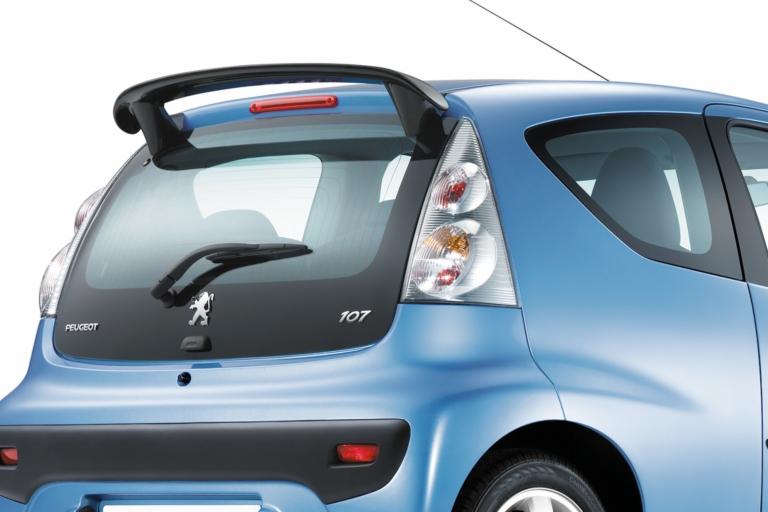 peugeot 107 sports rear lights fits all 107 models 1 0 1 4 hdi genuine peugeot style peugeot. Black Bedroom Furniture Sets. Home Design Ideas