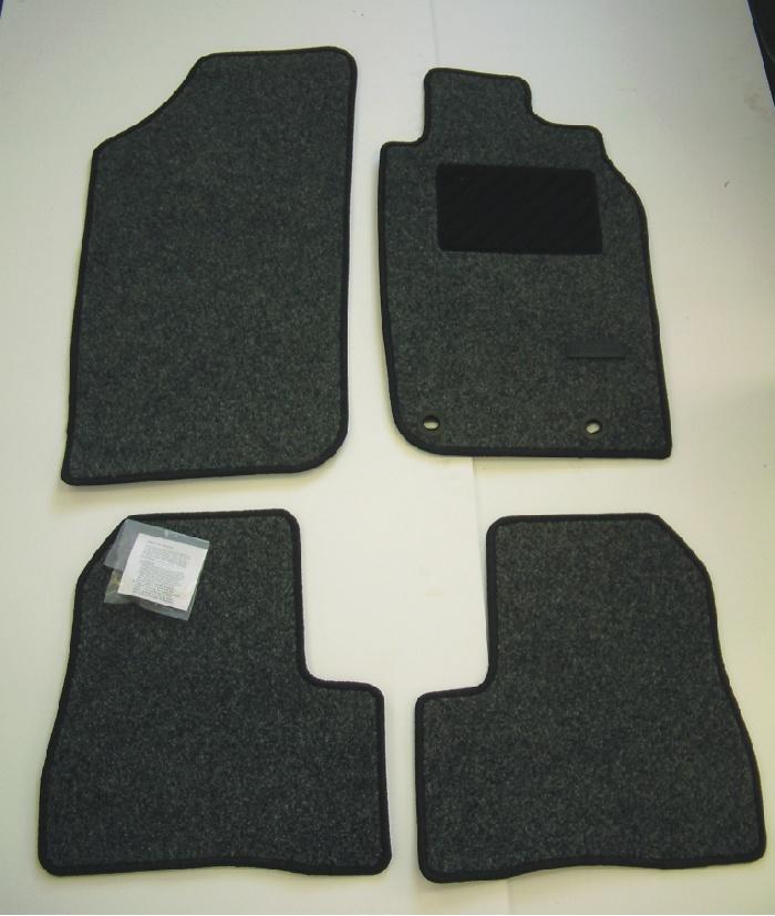 PEUGEOT 206 STANDARD CARPET MATS [3 & 5 door hatchback & SW up to Sept 2006]