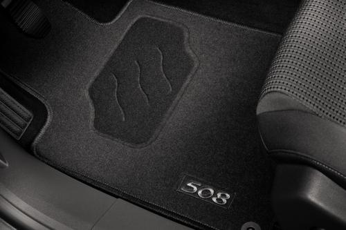PEUGEOT 508 STANDARD CARPET MATS [Fits all 508 models] 1.6 2.0 2.2 HDI NEW! Thumbnail 1