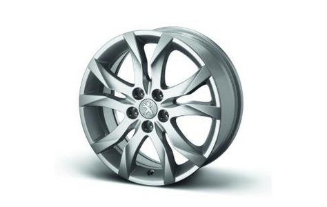 """PEUGEOT 508 STYLE 05 17""""ALLOY WHEEL [Fits all 508 models] 1.6 2.0 2.2 HDI NEW! Thumbnail 1"""