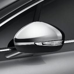 PEUGEOT 508 CHROME DOOR MIRROR CAPS [Fits all 508 models] 1.6 2.0 2.2 HDI NEW! Thumbnail 1