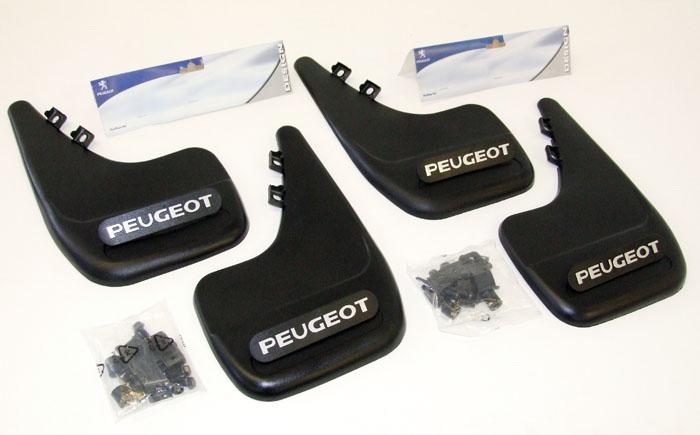 PEUGEOT 807 MUD FLAPS [Fits all 807 models] MPV GENUINE PEUGEOT ACCESSORY ITEM