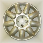 "PEUGEOT 206 PRIMA WHEEL TRIM COVER 14"" NO LOGO [all 206 models] GTI HDI XSI"