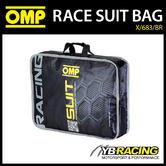 NEW! X/683/BR OMP RACING RACE SUIT CARRY BAG IN BLACK - GENUINE OMP MERCHANDISE!