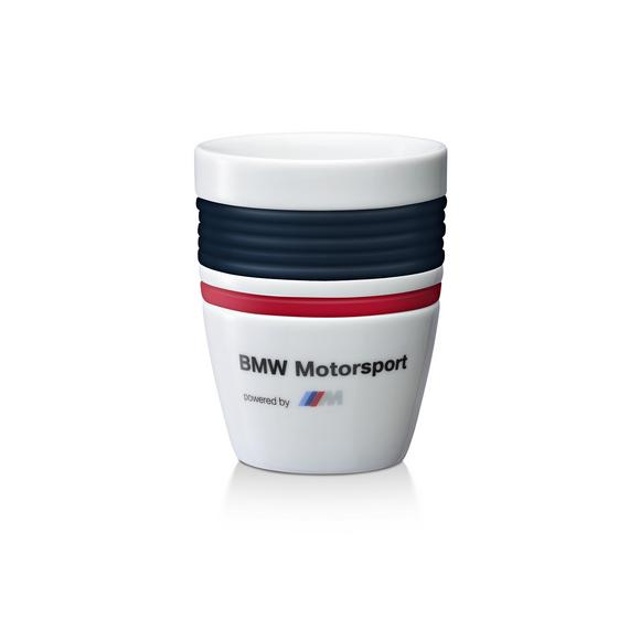 NEW! BMW MOTORSPORT COFFEE MUG DRINKS CUP with SILICONE GRIP Supplied in BMW Box Preview