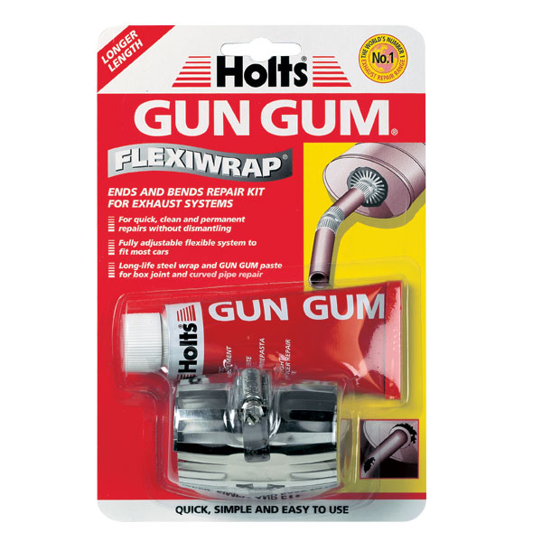holts gun gum flexiwrap exhaust silencer repair paste bandage firegum ebay. Black Bedroom Furniture Sets. Home Design Ideas