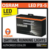 OSRAM LED DRL 301 PX-5 Retrofit Daytime Running Lights 12v 5200K E Road Legal
