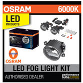 OSRAM LED FOG 101 Retrofit Daylight/Foglights (x2) 12/24v 6000K E Road Legal