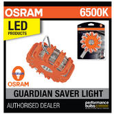New! OSRAM LED Guardian Road Flare Emergency Orange Warning Light LED SL301