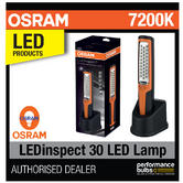New! OSRAM LEDinspect 30 LED Professional Inspection Lamp 7200K 3 Year Guarantee