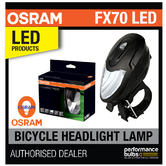 New! OSRAM LED bike FX70 Cycle Bike Bicycle LED Light Lamp Li-Ion 2600Mah 70Lx