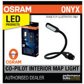 New! OSRAM LED Onyx Copilot Vehicle Car Interior Reading Map Light Lamp 12/24V