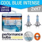 Limited Edition! Osram H7 Cool Blue Intense 64210CBL 55W 499 H7 x 2 +30% LIGHT!