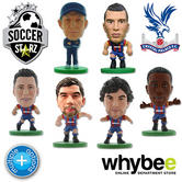 CRYSTAL PALACE FC SOCCERSTARZ FOOTBALL FIGURES -OFFICIAL EAGLES SOCCER STARZ NEW