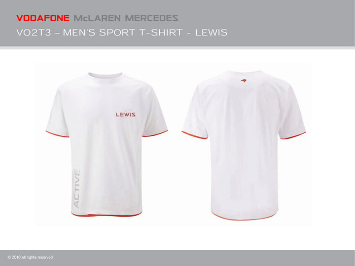 Sale mclaren f1 mercedes lewis hamilton sports t shirt for Mercedes benz t shirts sale