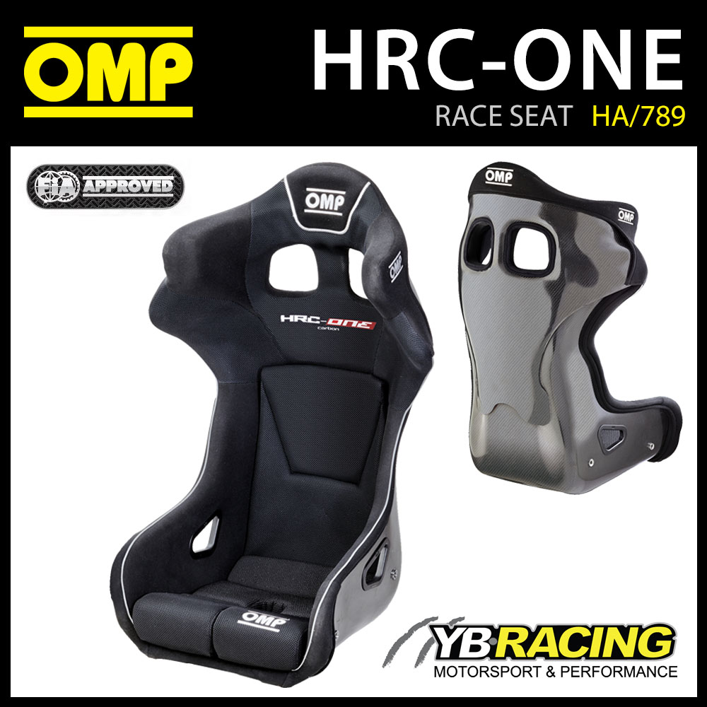 NEW! HA/789/N OMP HRC-ONE CARBON RACE SEAT MOTORSPORT WITH F1 SAFETY LEVEL