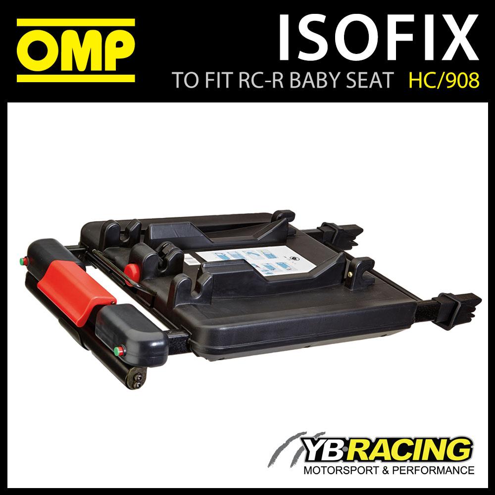 NEW! HC/908 OMP ISOFIX BASE for OMP RC-R CHILD BABY CAR SEAT