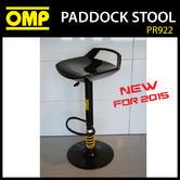 NEW! PR220 OMP RACING MOTORSPORT PADDOCK STOOL for PITS / GARAGE / MOTORHOME
