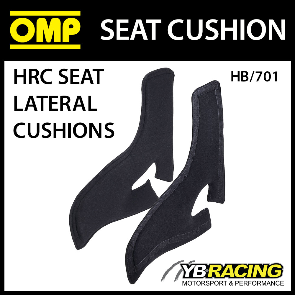 HB/701 OMP RACING LATERAL PAIR OF SEAT SUPPORT CUSHIONS FOR OMP HRC RACE SEATS