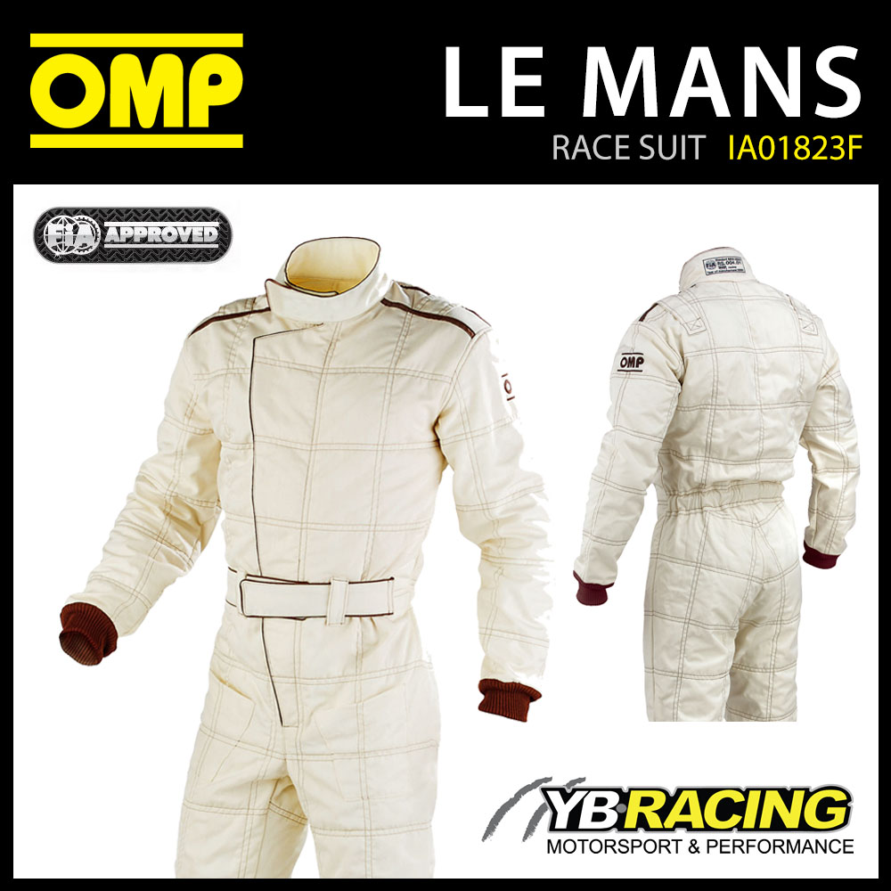 OMP LE MANS RACE SUIT