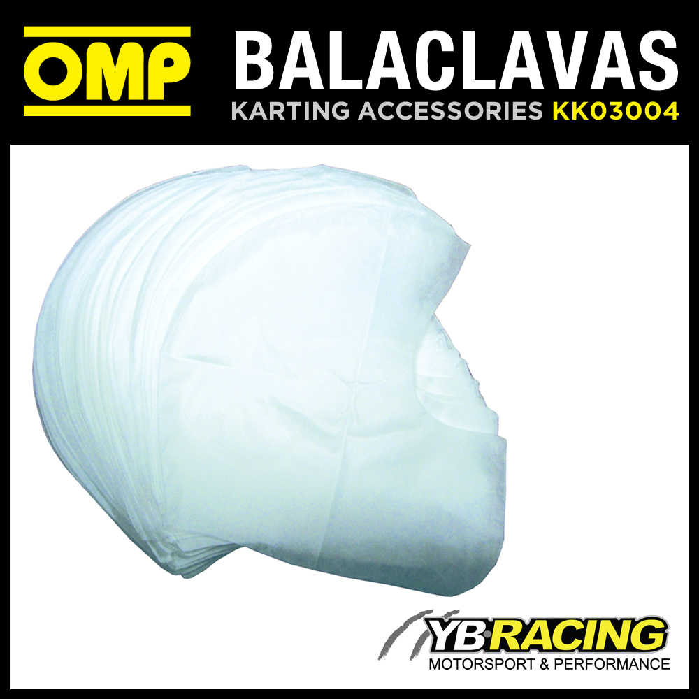 KK03004 OMP OPEN FACE DISPOSABLE BALACLAVAS