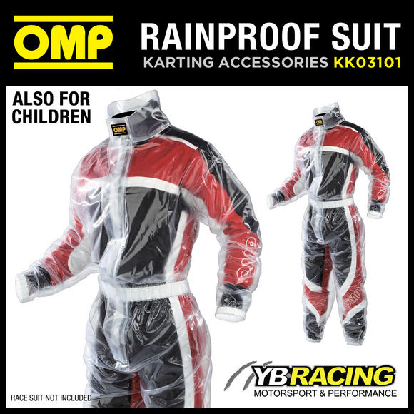 View Item KK03101 OMP RAINPROOF KART OVERSUIT
