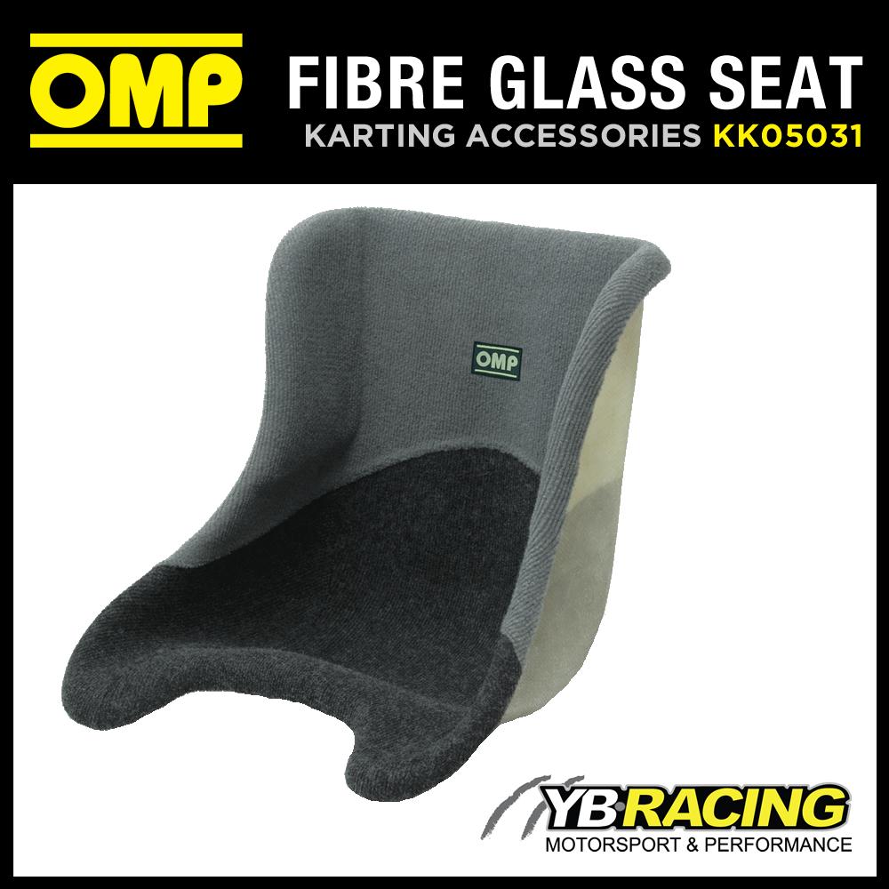 KK05031 OMP COVERED FIBREGLASS KART SEAT