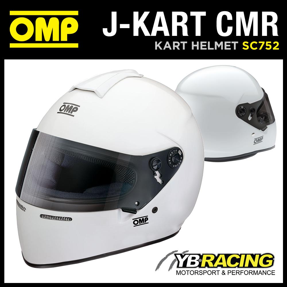 SC752 OMP J-KART HELMET FULL FACE KARTING HELMET FOR CHILDREN SNELL FIA CMR