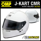 SC752 OMP J-KART HELMET FULL FACE KARTING HELMET FOR CHILDREN SNELL FIA CMR