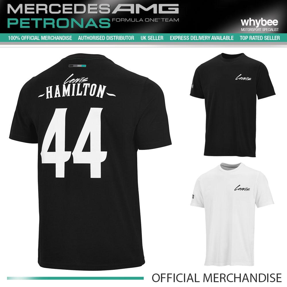 Sale lewis hamilton 44 driver t shirt mens new for Mercedes benz t shirts sale