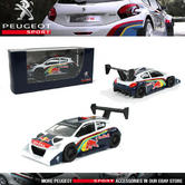 NEW! NOREV PEUGEOT SPORT 208 T16 PIKES PEAK 2013 MINIATURE 3-INCH MODEL TOY CAR