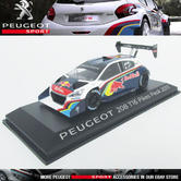 NEW! NOREV PEUGEOT SPORT 208 T16 PIKES PEAK 2013  1/43 SCALE MODEL CAR in CASE
