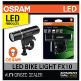 LED BL301 OSRAM LED Bike Cycle Front Light FX10 10 Lux Lamp - 2 Year Guarantee!