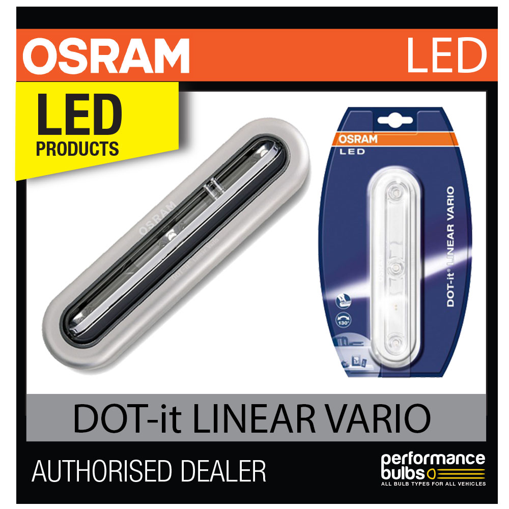 osram dot it linear vario led luz interior ajustable ngulo de haz magn tico ebay. Black Bedroom Furniture Sets. Home Design Ideas