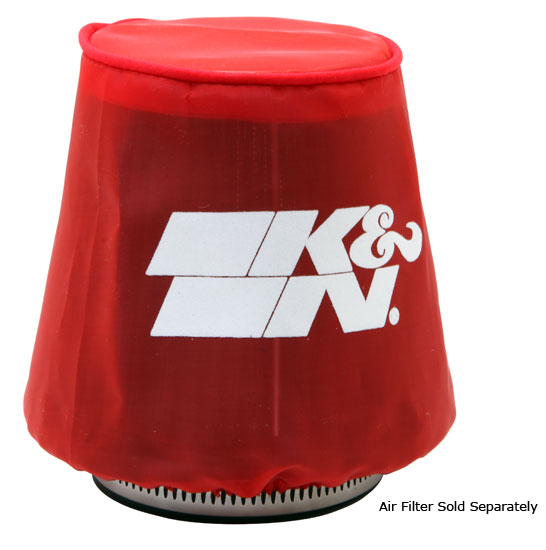 22-2040PR K&N KN AIR FILTER WRAP [DRYCHARGER,RED,RND.TAPERED] BRAND NEW K&N! Preview