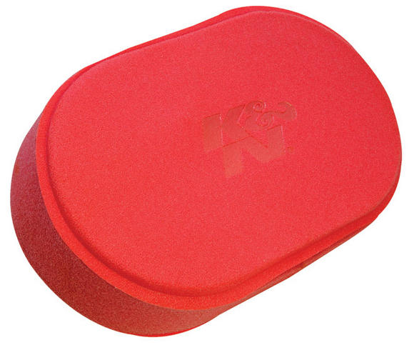 "25-5930 K&N KN AIR FILTER FOAM WRAP - TREATED [WETSUIT, 5.5"" X9"" X2.5"" RED] NEW! Preview"