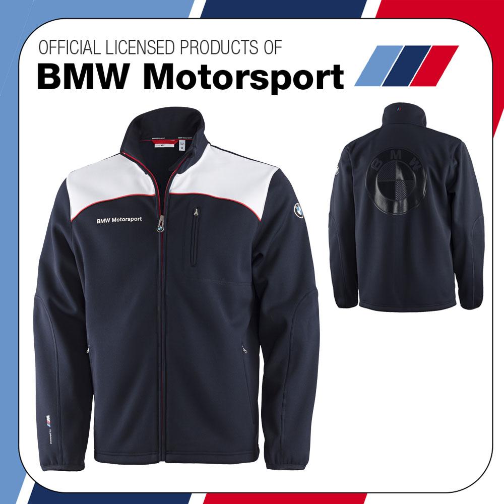 nouveau bmw motorsport m sport m3 m5 homme softshell veste manteau bmw logo au dos ebay. Black Bedroom Furniture Sets. Home Design Ideas